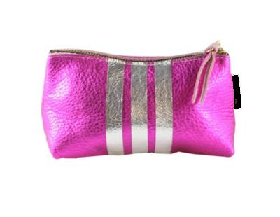 Three Stripe  Pink Bardot