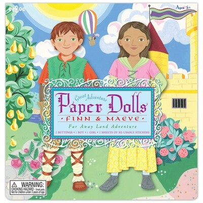 Finn Paper Dolls