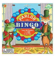 Parlor Bingo Game