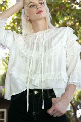 Lil Harlin White Top