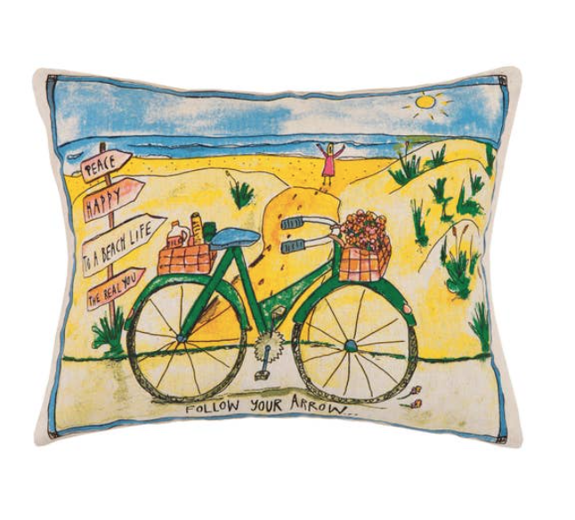 Beach& Bike Pillow