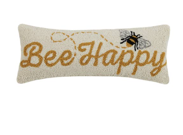 Bee Happy Pillow