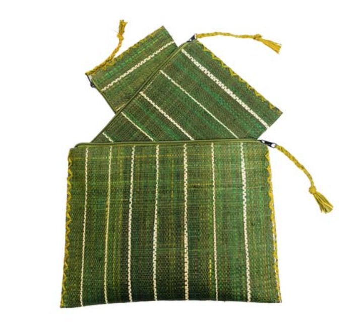 Tres amigos Medium Green Catchall
