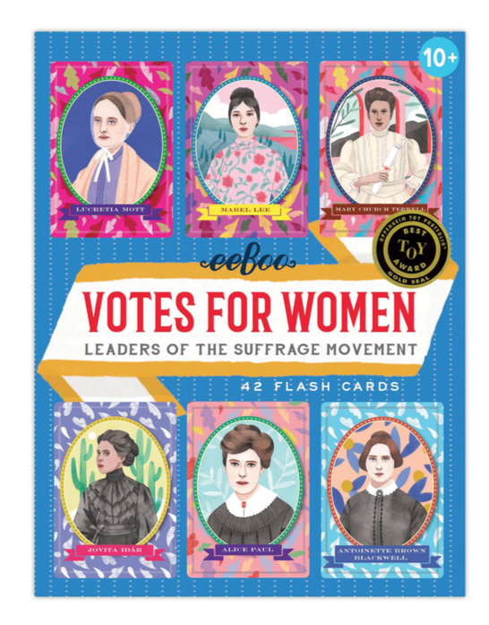 Votes for Women Flash Cards