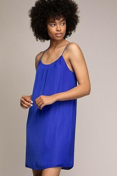 Strappy Capri Blue Colour Dress