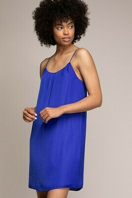 Strappy Capri Blue Colour Dress