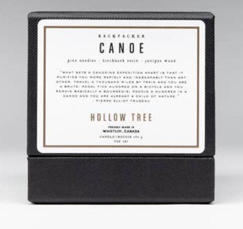 WBC Organic candle CANOE