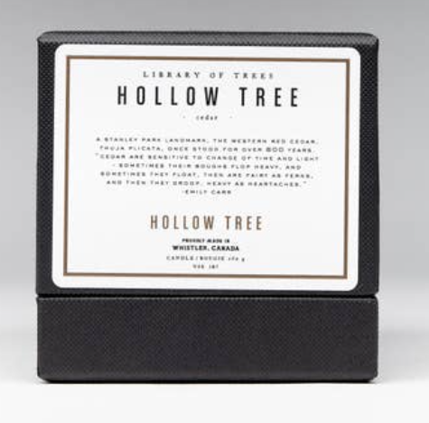 WBC Organic Candle HOLLOW TREE