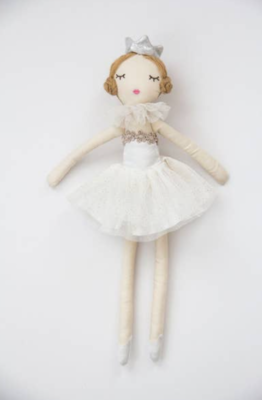 Silver Sml Ballerina Doll