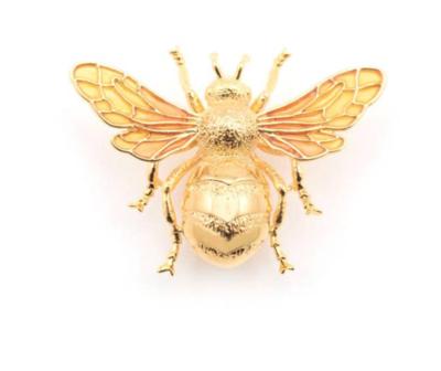 Luxury Queen Bee  Gold Pin