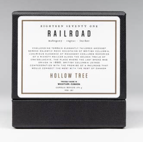 WBC Organic Candle RAILROAD