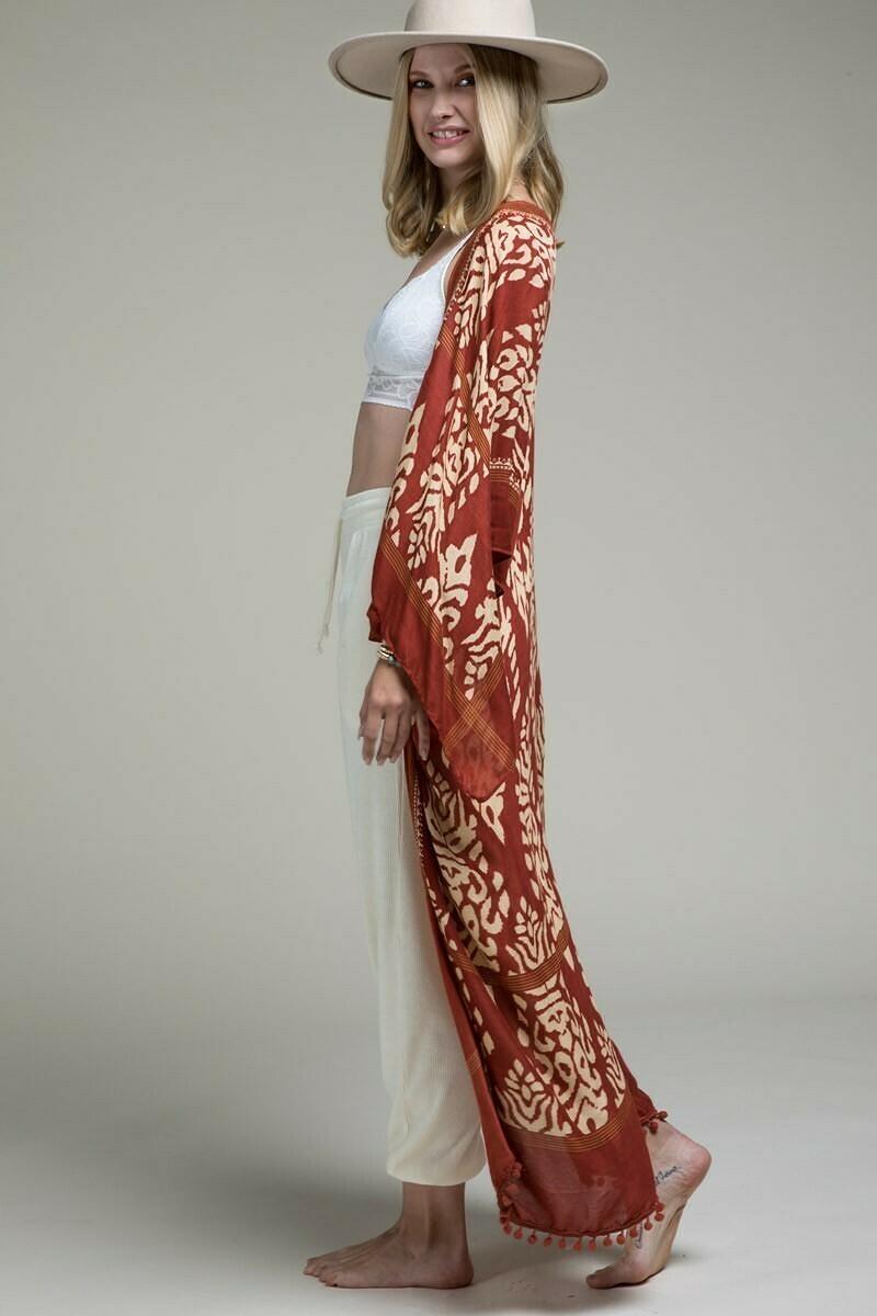 Bali Luxury Kimono Wrap