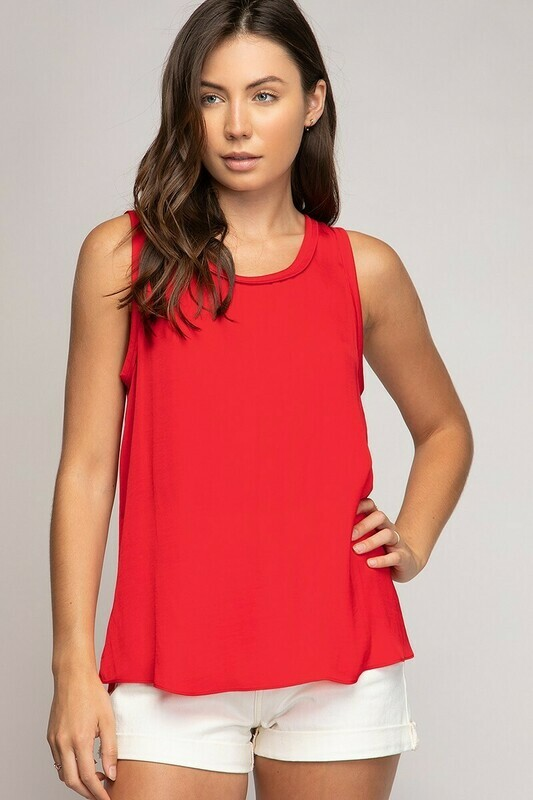 Very Red Dress Tank Top