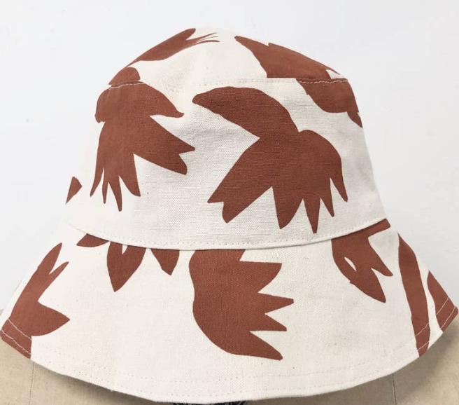 Clay Lotus Bucket Hat