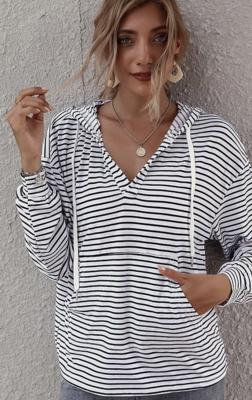 Striped Beach Hoodie