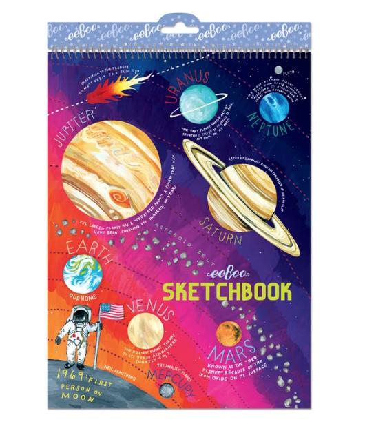 Solar System Sketchbook