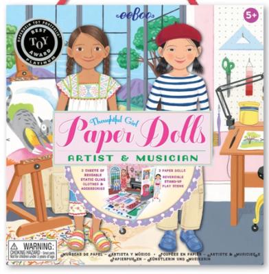 Musician & Artist Paper Doll Set
