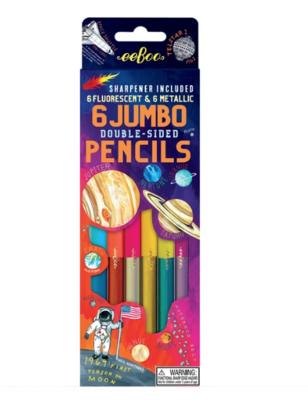 Solar System 6 Jumbo Double Pencils