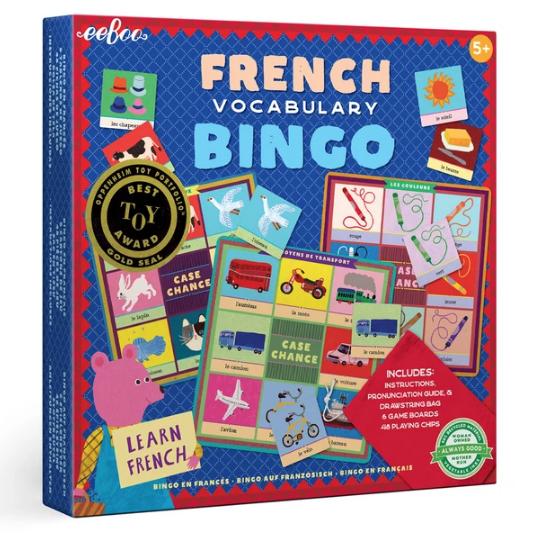 French Bingo Bard Game