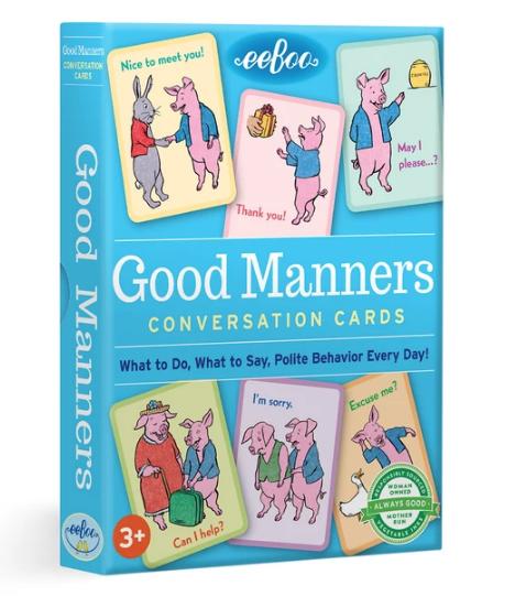 Good Manners Conversation Cards
