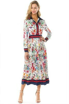 Floral Multi Print Dress