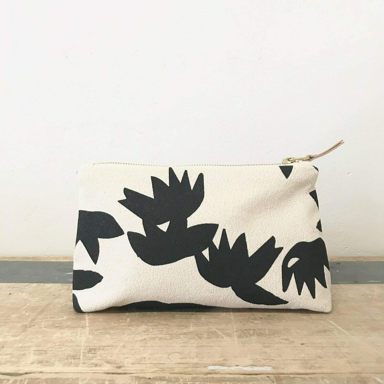 Lotus Makeup Bag