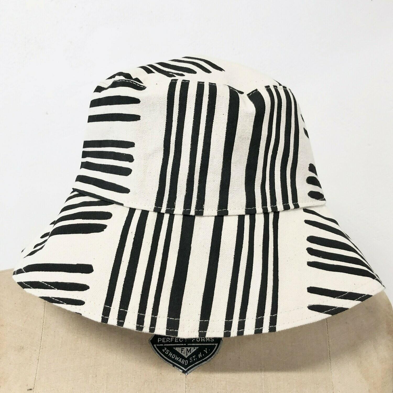 Black Brush Bucket Hat