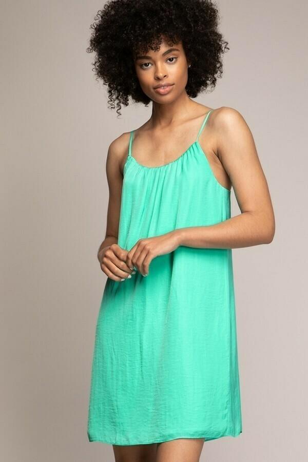 Ice Green Strappy Dress