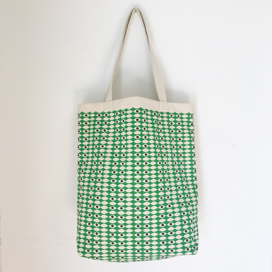 Kelly's Eyes Canvas Tote