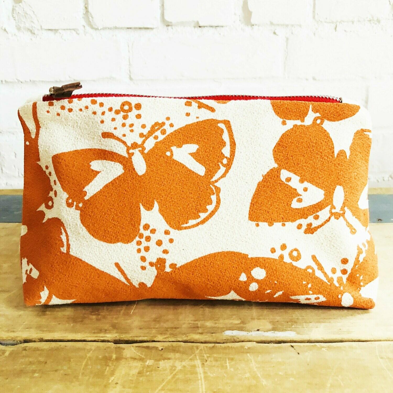 Tangy Butterflies Make Up Bag