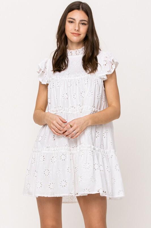 East Hampton Eyelit Dress