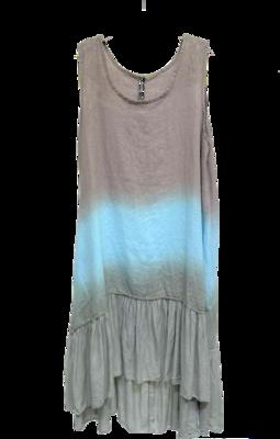 Gradient Dipped Dress