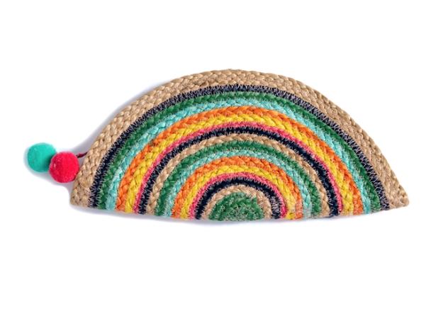 Rainbow Sunshine Clutch