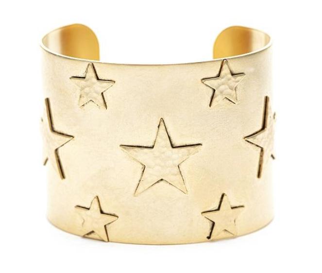 Full Stars Cuff Bracelet