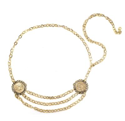 Roman Coin Chain Belt