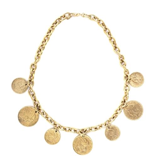 Serafina Roman Inspired Coin Necklace