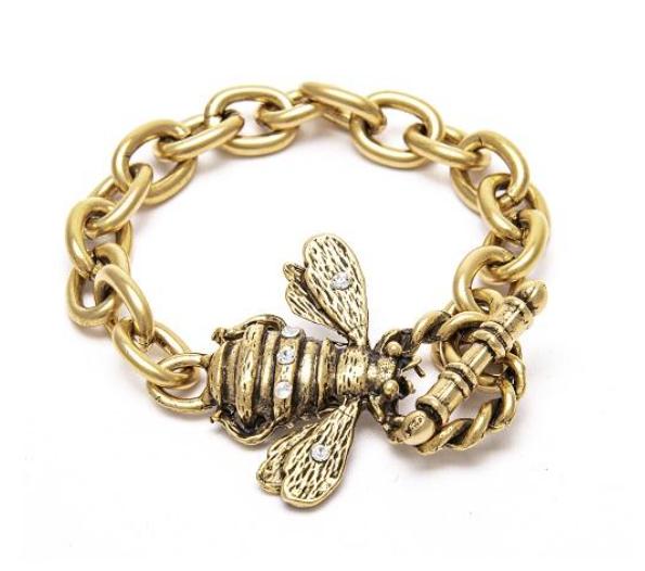 Bee Clasp Bracelet