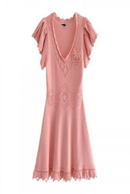 Guava Lux Knit Dress