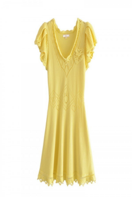 Lemoncello Lux Knit Dress