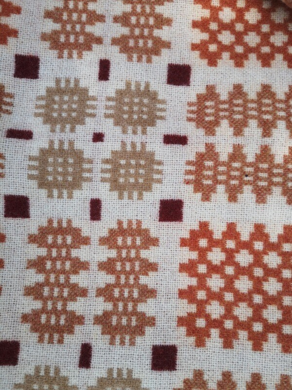 Llanllwni Mountain Welsh Blanket