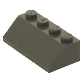 20 x dunkel-blaugrau 92946 LEGO Dachstein 45° 2 x 1 mit 2//3 Aussparung neu