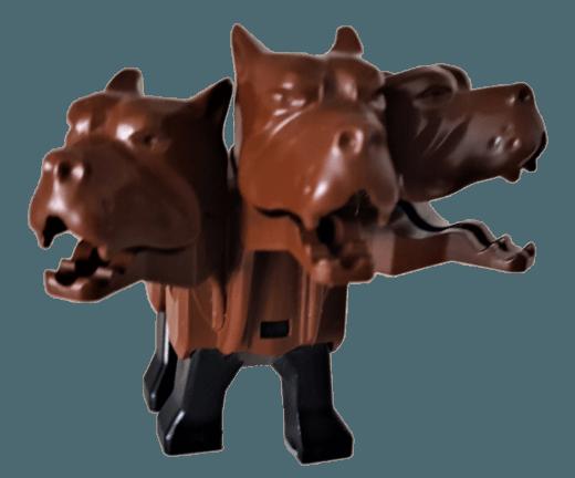 Lego 40246 Dreikopfiger Hund Fluffy