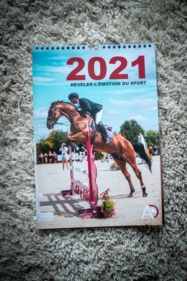 """Calendrier """"Eventing"""" 2021"""