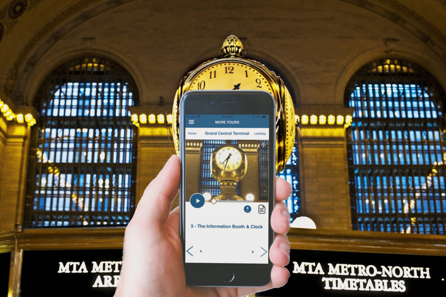 Grand Central Self-Guided Walking Tour