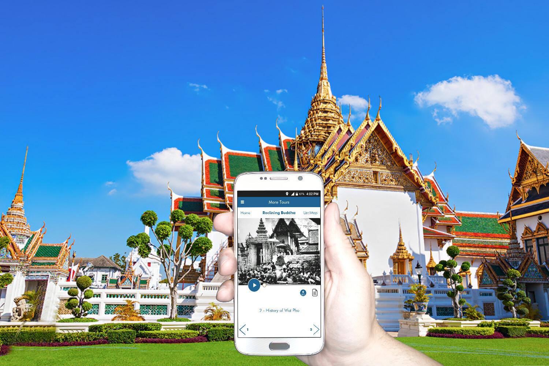 Bangkok's Reclining Buddha (Wat Pho) Self Guided Audio Tour