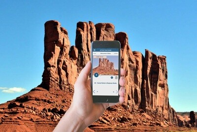 Monument Valley Self-Driving Audio Tour
