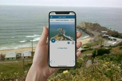 SF to Monterey PCH Rt-1 GPS Self-Guided Driving Tour