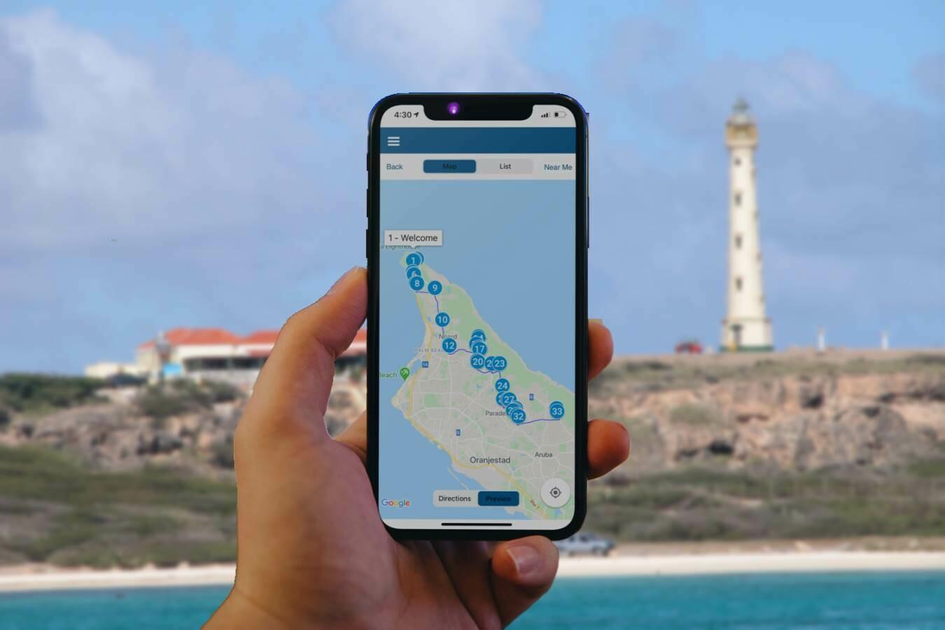 Aruba Noord Self-Guide Audio Driving Tour
