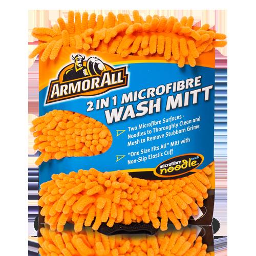 Armor all 2-1 wash handschoen