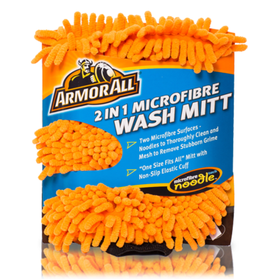Armor all 2-1 wash handschoen
